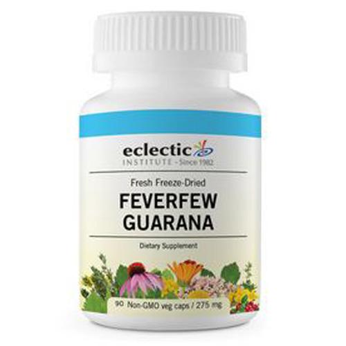 Eclectic Institute Inc Feverfew Guarana - 90 Caps