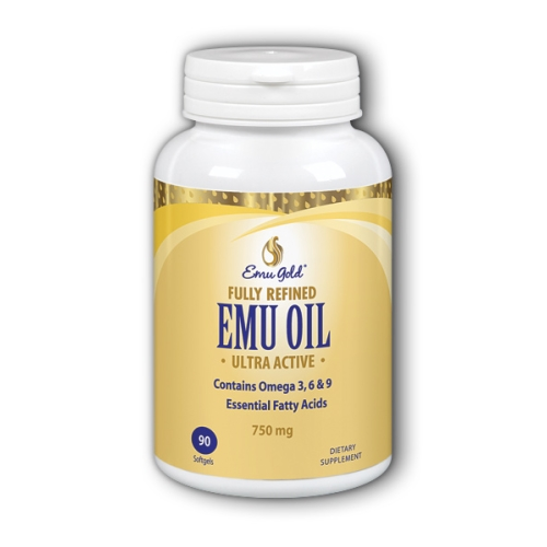 Emu Gold - Emu Oil Extra Strength 90 Softgels by Emu Gold