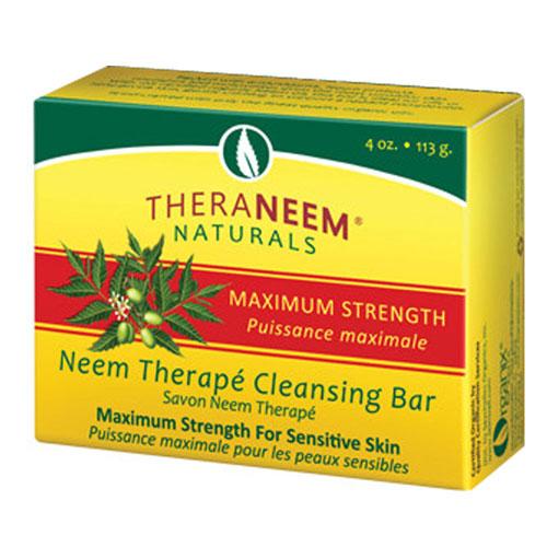 Maximum Strength Neem Oil Soap Fragrance Free 4 oz by Organix South