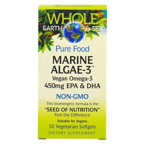 Natural Factors - Marine Algae-3 30 Softgels by Natural Factors