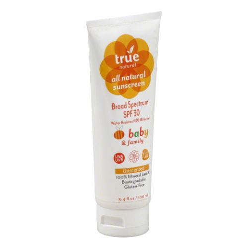 True Natural - Baby Sunscreen SPF 30 3.4 Oz by True Natural