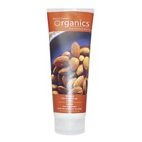 Hand & Body Lotion Sweet Almond, 8 Oz by Desert Essence