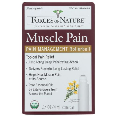 Forces of Nature - Muscle Pain Management 11 ml by Forces of Nature