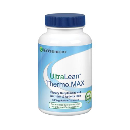 UltraLean Thermo Max 60 Vcaps by N-BioGenesis UltraLean Thermo Max is intended to provide nutritive support for proper metabolism when used with a healthy diet and exercise program. Use in conjunction with the UltraLean Thermo MAX Nutrition & Activity Plan provided below.