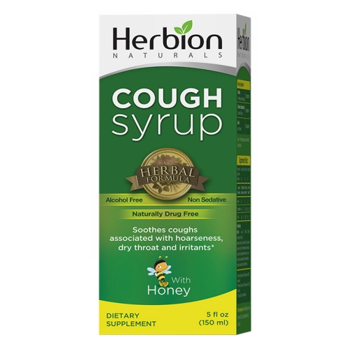 Herbion - All Natural Throat Syrup 5 Oz by Herbion