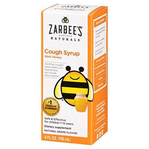 Baby Cough Syrup Grape 2 Oz by Zarbees