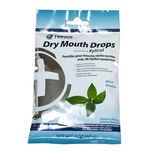 Hager Pharma - Dry Mouth Drops Mint 2 Oz by Hager Pharma