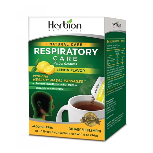 Herbion Naturals - Respiratory Care Lemon 10/.19 oz by Herbion Naturals