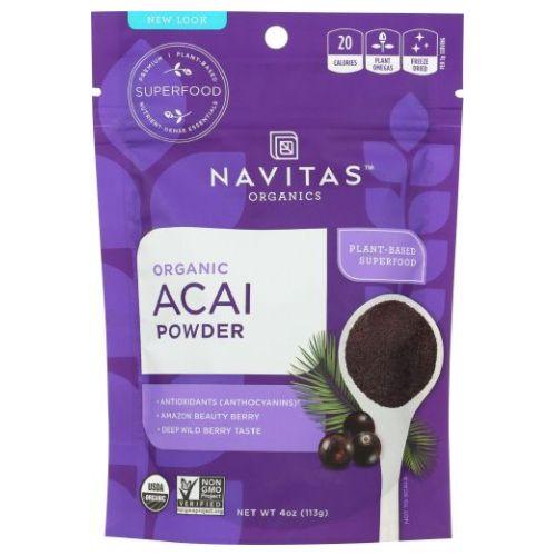 Navitas Naturals - Acai Powder 4 Oz by Navitas Naturals