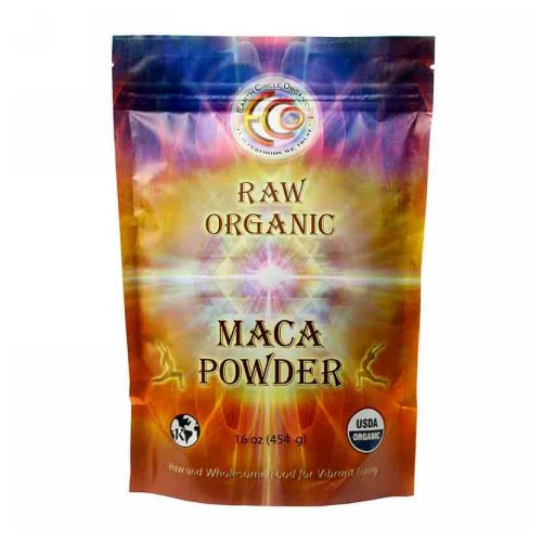 Earth Circle Organics - Organic Maca Powder Red 8 Oz by Earth Circle Organics