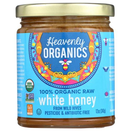Heavenly Organics - Himalayan Raw White Honey 12 Oz by Heavenly Organics