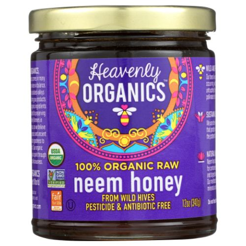 Heavenly Organics - Organic Raw Neem Honey 12 Oz by Heavenly Organics