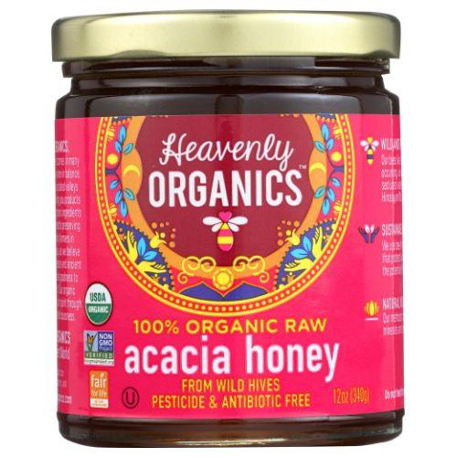 Heavenly Organics - Raw Honey Acacia 12 Oz by Heavenly Organics