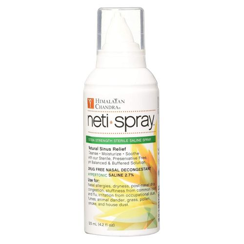 Himalayan Institute - Neti Spray Extra Strength Sterile Saline Spray 4.2 oz by Himalayan Institute