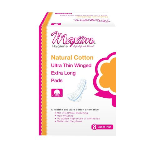 Maxim Hygiene Products - Ultra Thin Winged Extra Long Pads 8 Count by Maxim Hygiene Products