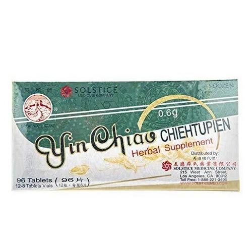 Solstice Medicine - Yin Chiao Herbal Supplement 96 Tabs by Solstice Medicine