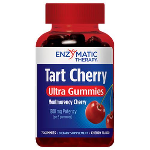 Enzymatic Therapy - Tart Cherry Ultra Gummies Cherry 75 Gummies by Enzymatic Therapy
