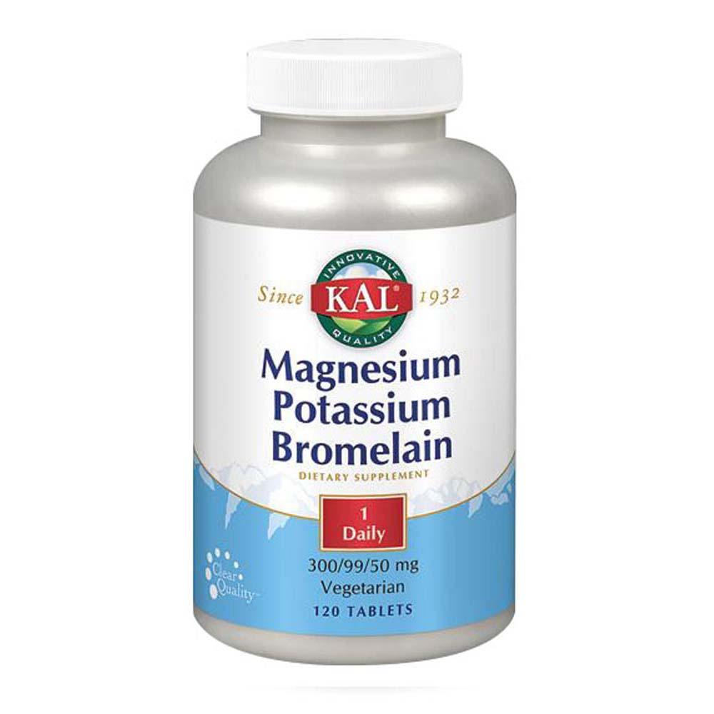 Magnesium Potassium Bromelain 60 Tabs by Kal