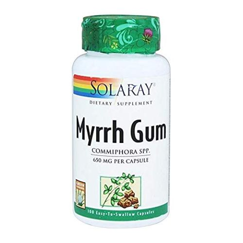Solaray - Myrrh Gum 100 Caps by Solaray