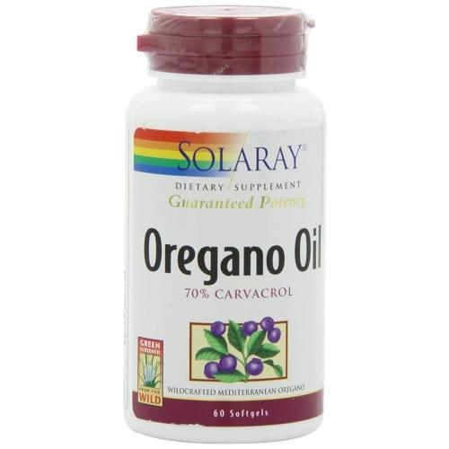Solaray - Oregano Oil 60 Softgels by Solaray