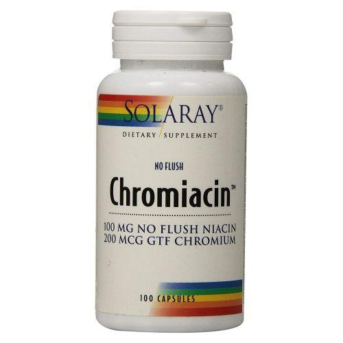 Solaray - Chromiacin 100 Caps by Solaray