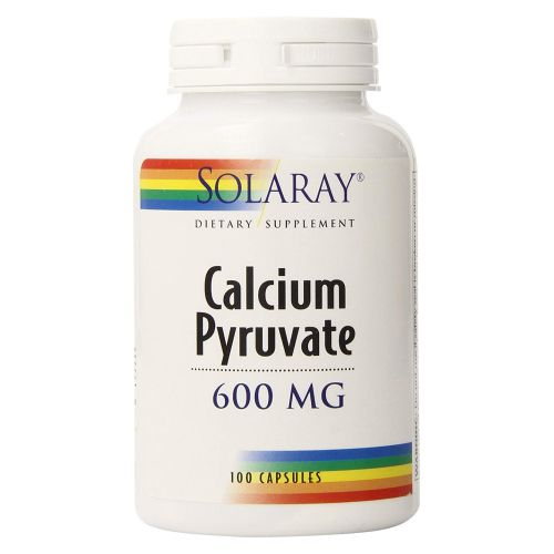 Solaray - Calcium Pyruvate 100 Caps by Solaray