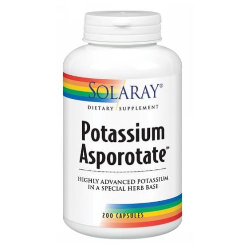Potassium Asporotate 200 Caps by Solaray