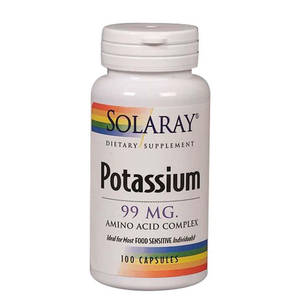 Potassium 200 Caps by Solaray