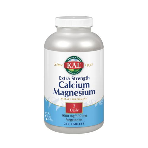 Calcium Magnesium Extra Strength 250 Tabs by Kal