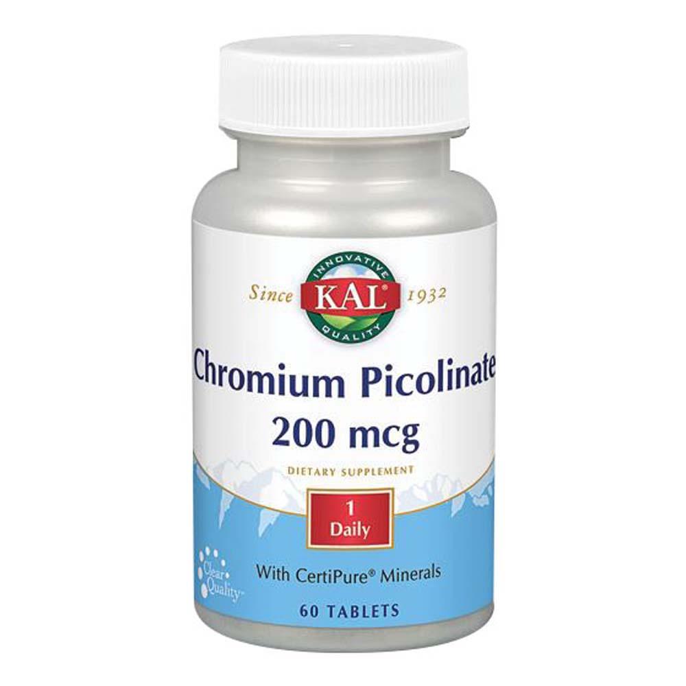 Kal Chromium Picolinate - 60 Tabs