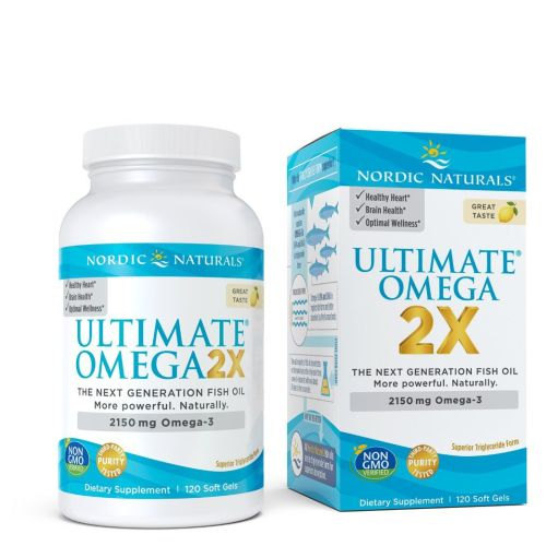 Nordic Naturals - Ultimate Omega 2X 120 Count by Nordic Naturals