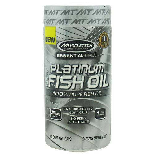 Platinum 100% Fish Oil 100 Caps by Muscletech