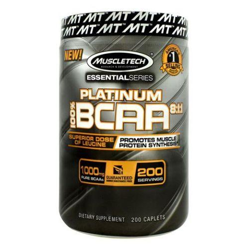 Muscletech - Platinum BCAA 200 Caps by Muscletech