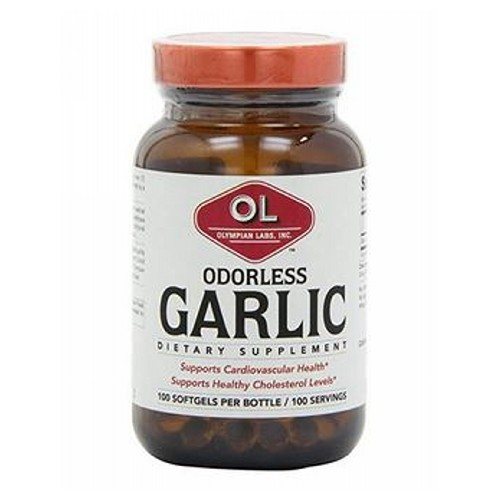 Olympian Labs - Odorless Garlic 30 Softgels by Olympian Labs