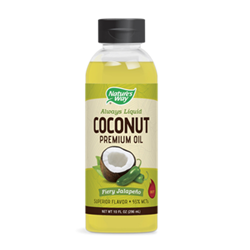 Nature's Way - Coconut Oil Fiery Jalapeno 10 fl oz by Nature's Way