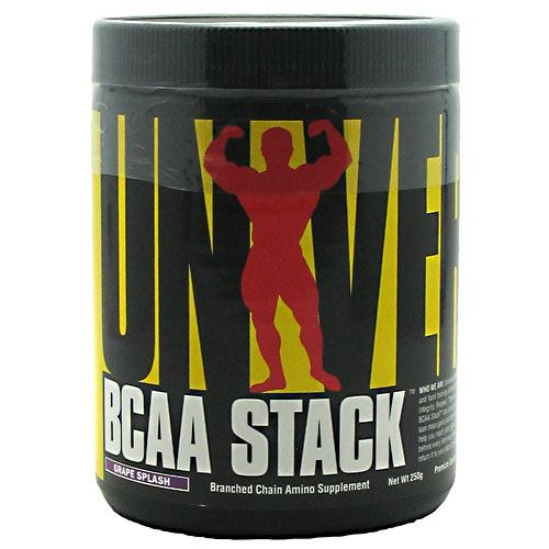 Universal Nutrition - BCAA STACK Grape 250 grams by Universal Nutrition
