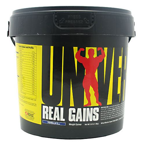 Universal Nutrition - REAL GAINS Vanilla 3.81 lbs by Universal Nutrition