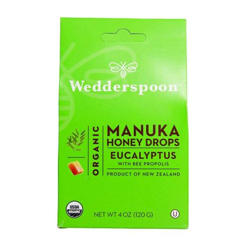 Wedderspoon Organic - Organic Manuka Honey Drops Eucalyptus 4 OZ by Wedderspoon Organic