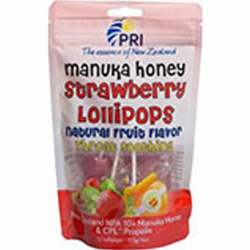 Pacific Resources - Strawberry Lollipops 12 Count by Pacific Resources