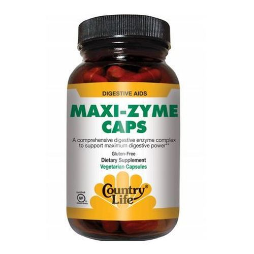 Country Life - Maxi-Zyme 60 Caps by Country Life