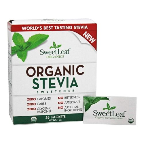 Wisdom Natural - Organic Stevia Sweetener 35 Count by Wisdom Natural