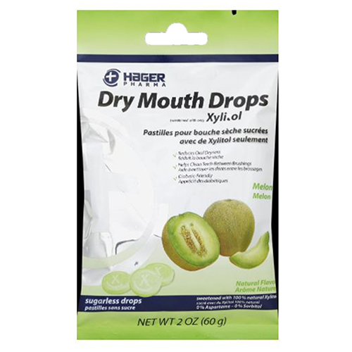 Hager Pharma - Dry Mouth Drops Melon 2 Oz by Hager Pharma