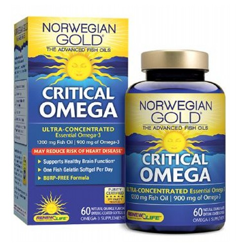 Renew Life - Norwegian Gold Critical Omega 60 Count by Renew Life