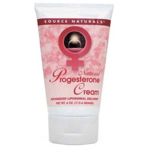 Source Naturals - Progesterone Cream 4 oz Tube by Source Naturals