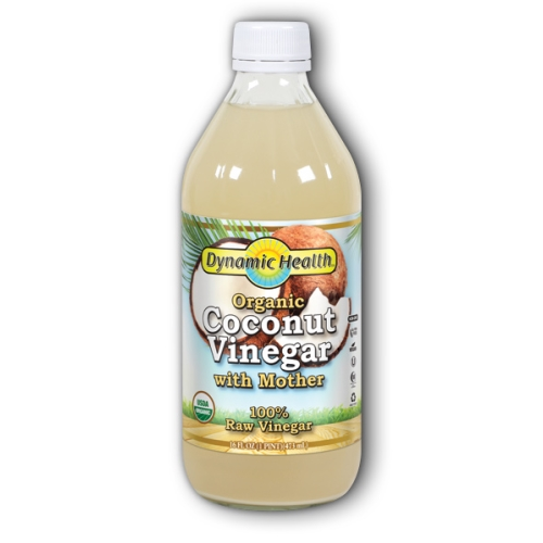 Dynamic Health Laboratories - Coconut Vinegar with Mother Certified Organic 16oz by Dynamic Health Laboratories