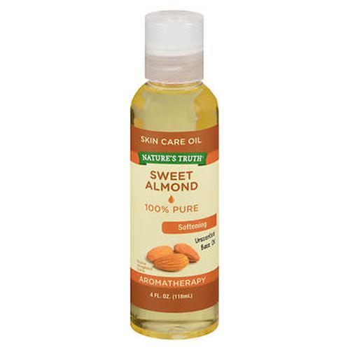Sweet Almond Skin Care Oil 4 Oz by Natures Truth