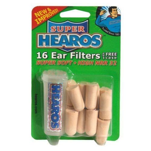 Hearos - Ultimate Softness Ear Plugs 28 Count by Hearos