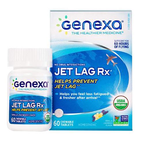 Genexa - Organic Jet Lag RX 60 Tabs by Genexa