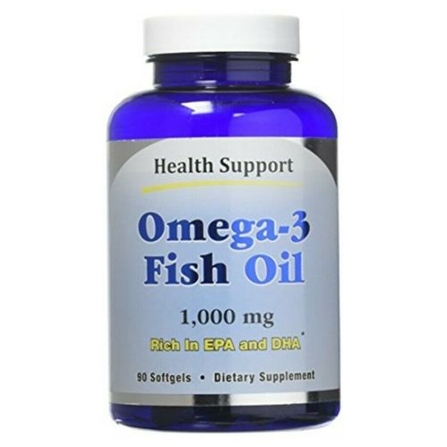 Health Support - Omega-3 Fish Oil 180 Softgels by Health Support