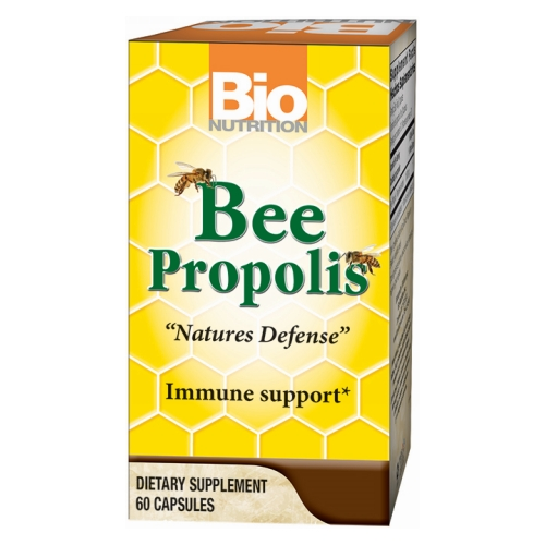 Bio Nutrition Inc - Bee Propolis 60 Caps by Bio Nutrition Inc